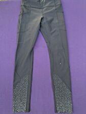 Lululemon Midnight Star Polka Dot Leg Jazz Dance Yoga Exercise Pants 2 ��sj7m26