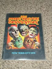 Famous Monsters of Filmland 1975 Convention book Warren magazine