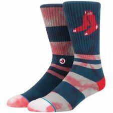 Stance MLB Socks Boston Red Sox Men's Medium 6-8.5 NWT Navy Red Summer League