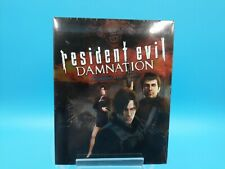 film blu ray neuf resident evil damnation animation capcom