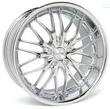 """18"""" MRR GT1 Chrome Wheels For Mercedes E350 E550 Years 2010 - 2015 Rims Set (4)"""