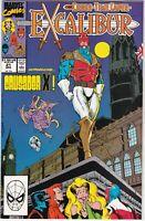 MARVEL COMIC EXCALIBUR #21 CROSS-TIME CAPER NM #90916-4 BR1