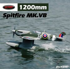 Dynam RC Seaplane Supermarine spitfire MK.VB 1200mm Wingspan - PNP