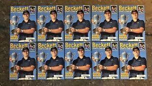 2015 Beckett NSCC JORDAN SPIETH 10 Card Golf Lot #/2015 Made REAL ROOKIE Masters