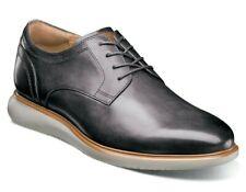 Florsheim Fuel Plain Toe Oxford Men's Leather Lace Up Shoes Sneakers Gray Size 8