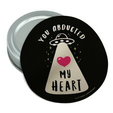 You Abducted My Heart Alien Love Funny Rubber Non-Slip Jar Gripper Opener