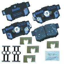 Disc Brake Pad Set-Premium Copper Free Ceramic BPR Disc Brake Pad Rear Bendix