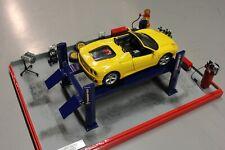 Diorama workshop 1:18 with a Ferrari 360 Spider (PJBB)