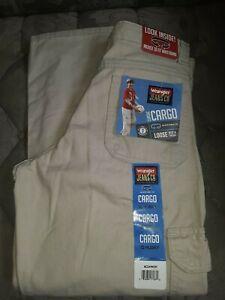 Wrangler Cargo Pants Boy's Sz 10 Husky NEW