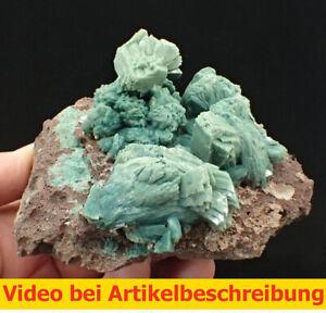 7218 Stilbite Heulandite Celadonite green ca13*11*9cm Sakur India 1996 MOVIE