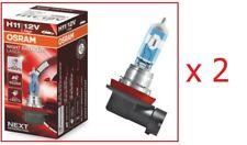 Pair of OSRAM Night Breaker Laser +150% H11 55W 64211NL Headlight Bulbs NEW