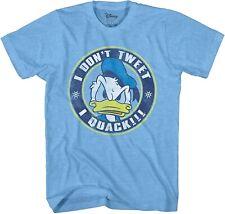 Disney Donald Duck Just Quacks Adult Tee Graphic T-Shirt for Men Tshirt