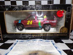 NASCAR DIECAST 1998 JEFF GORDON #24 DUPONT CHROMALUSION 1/25 CHEVROLET TAHOE