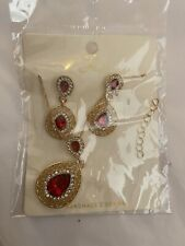 vintage costume jewelry necklace and earring sets