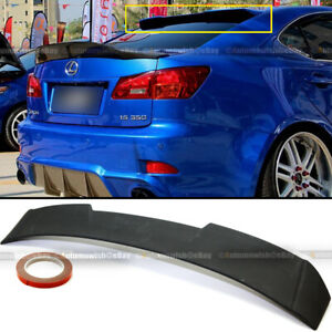 For 06-13 IS250 IS350 JDM Unpainted R Style VIP Rear Window Roof Wing Spoiler