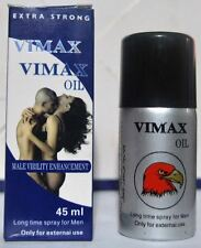 VIMAX Oil with Extra Vitamin E, Long time SEX delay spray for Men-Free shipping
