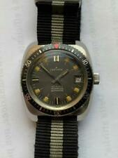 DIVER VINTAGE WATCH Automatic BAKELITE BEZEL Swiss Zarvarth diver submariner