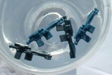4 LOT CUSTOM Black & Blue Stormtrooper Weapon FLOAT 1977 & 1980 Vintage Star War