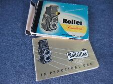 Rollie / Rollieflex Camera Booklets
