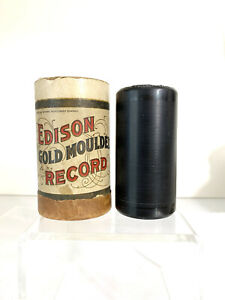 "EDISON GOLD MOULDED WAX CYLINDER ""STARS AND STRIPES FOREVER"" - BANJO - #2632"