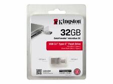 DTDUO3C/32GB .PENDRIVE 32GB USB3.0 TIPO C KINGSTON DT MICRO DUO