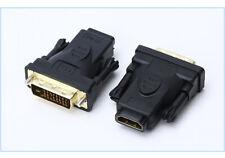 Adattatore convertitore da HDMI femmina a DVI-D dual link 24+1 pin maschio Video