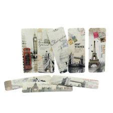 30Pcs Retro Different European Scenes Paris Eiffel Tower Bookmarks Set hot