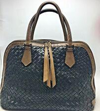 Falor Italia Woven Leather Italian