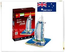 BURJ AL ARAB (UAE) DIY Educational 3D Puzzles Jigsaw Kids Adult 44 pieces