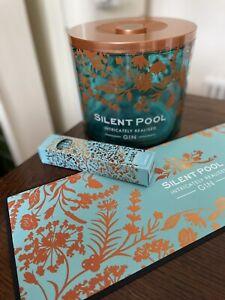 Brand New Stunning Silent Pool Gin Ice Bucket Bar Runner Straws Surrey