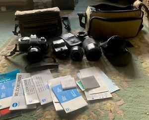Konica Minolta X300 35mm SLR Film Camera Kit