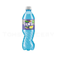 FANTA SHOKATA Zero Elderberry & Lemon Flavor Soda Sparkling Drink 500ml
