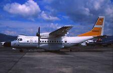 Original colour slide CN-235MPA A-2317 of Indonesian Air Force