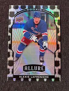 2020-21 Allure ALEXIS LAFRENIERE Shield Refractor RC #100 New York Rangers
