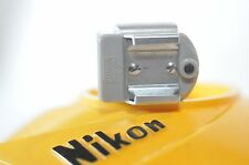 Nikon F Flash shoe adapter Type I GREY Nippon Kogaku for BC-4 BC-5 Flash Unit