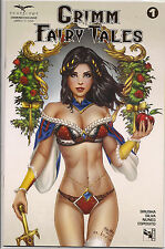 Grimm Fairy Tales vol 2 1 Diamond GOLD FOIL EBAS Exclusive 1 of 1200 NM SOLD OUT