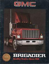 Prospekt GMC Brigadier 1979 truck brochure GB USA LKWs Broschüre Autoprospekt