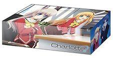 Charlotte Yusa Kurobane & Nao Tomori Card Game Character Storage Box Case V.136