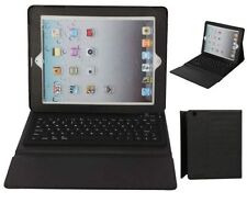 76 key Leather Case with Bluetooth cordless keyboard & stand for ALL Ipad 2 3 4