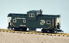 Usa Trains 12127 G Scale Extended Vision Caboose U S Marines Rd #903 green