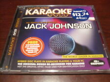 CHARTBUSTER KARAOKE GOLD KGR13012 JACK JOHNSON CD+G SEALED