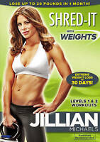 Jillian Michaels: Shred-It With Weights (DVD, 2009) Workout DVD
