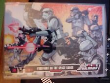 Topps Star Wars Illustrated A New Hope #13 Firefight on the Space Range MINT