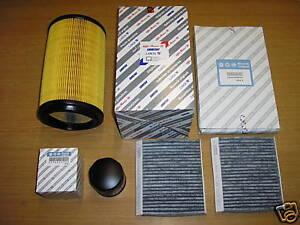 Alfa Romeo 156 GTA 3.2 V6 24V  NEW genuine oil air pollen filter service kit