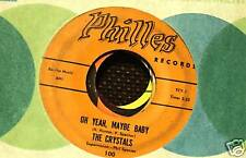 phillies records THE CRYSTALS  PHIL SPECTOR