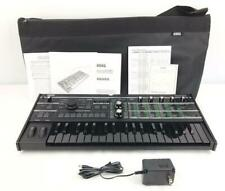 Excellent! KORG microKORG Synthesizer Vocoder Keyboard Black x Black Limited