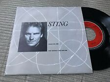 "STING POLICE - SUNG IN SPANISH 7"" SINGLE SPAIN A&M 91 PROMO VENGO DEL SUR"