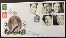 Buckingham 6.2.2002 Queen's Golden Jubilee FDC Signed SIR EDMUND HILLARY Everest