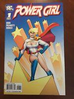 POWER GIRL #1 (DC Comics 2009) Amanda Conner cover NM