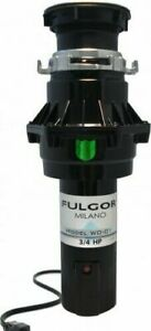 RRP $499 Fulgor Milano 3/4 HP Waste Disposal Unit -High Quality Model WD-01